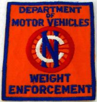 WISH,NC,NORTH CAROLINA DEPARTMENT OF MOTOR VEHICLES WEIGHT ENFORCEMENT A