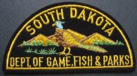 Ben 39 s patch collection for South dakota game fish and parks