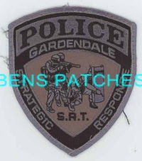 Alabama Police Patch GREENVILLE ALABAMA Special Response Team