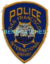 SAN FRANCISCO CALIFORNIA TRANSIT POLICE PATCH